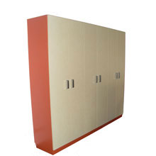 Schrank Orange